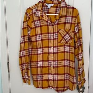 EUC LARGE OLD NAVY FLANNEL